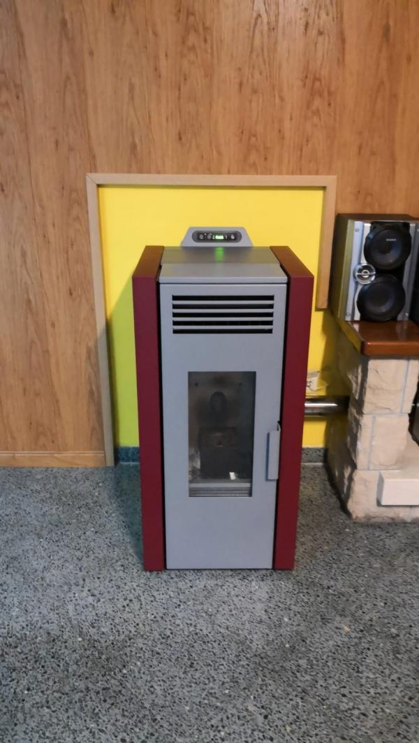 instalación estufa